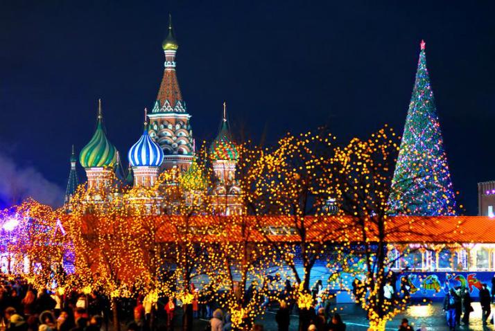 Image result for рождество в москве